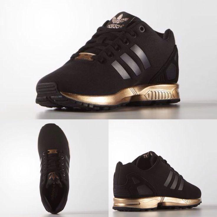 Conception innovante a75be 6ce2d Vente en ligne adidas zx flux femme noir et or à bas prix ...